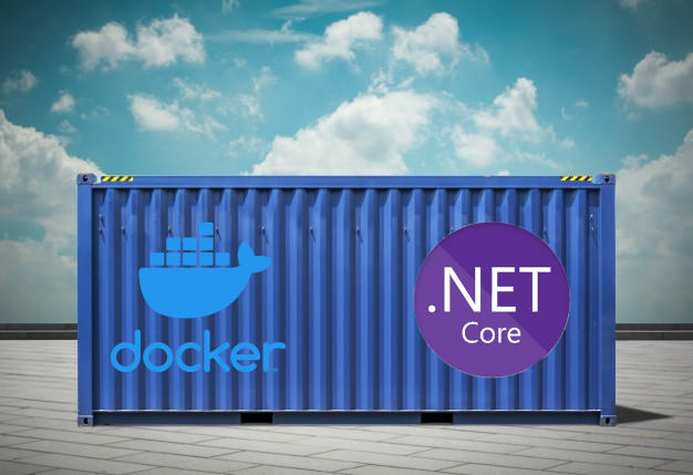 Putting a .NET Core app in a container