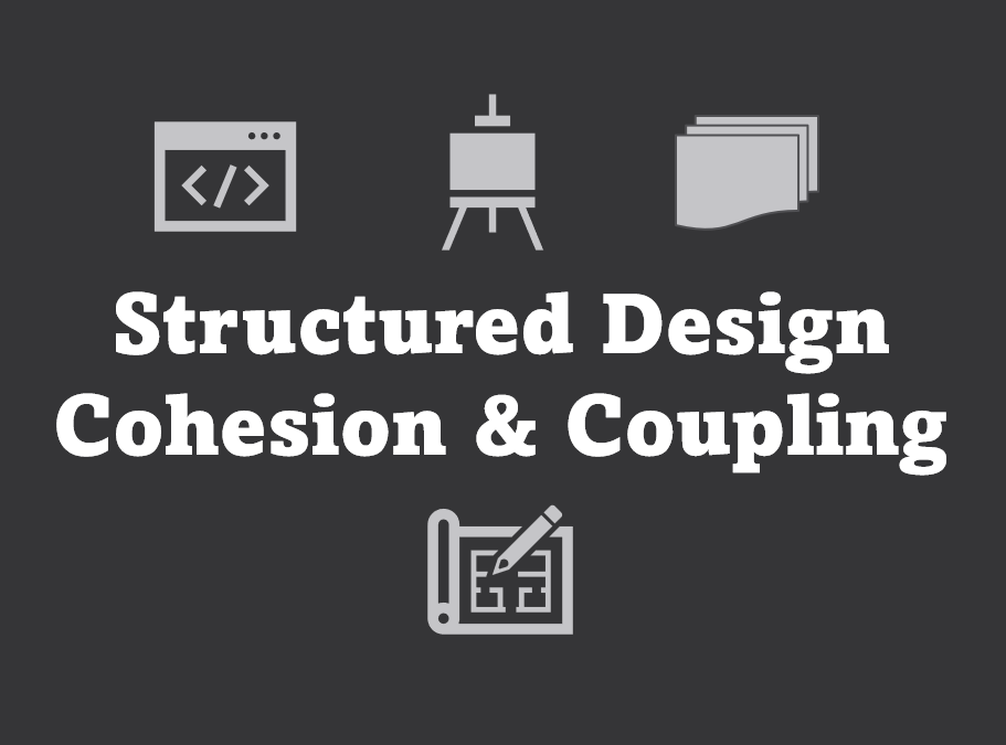 Cohesion and Coupling - two important concepts to understand when building good software